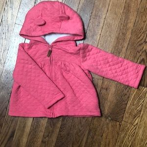 Carter's Pink Jacket with Hood Size 24 Months